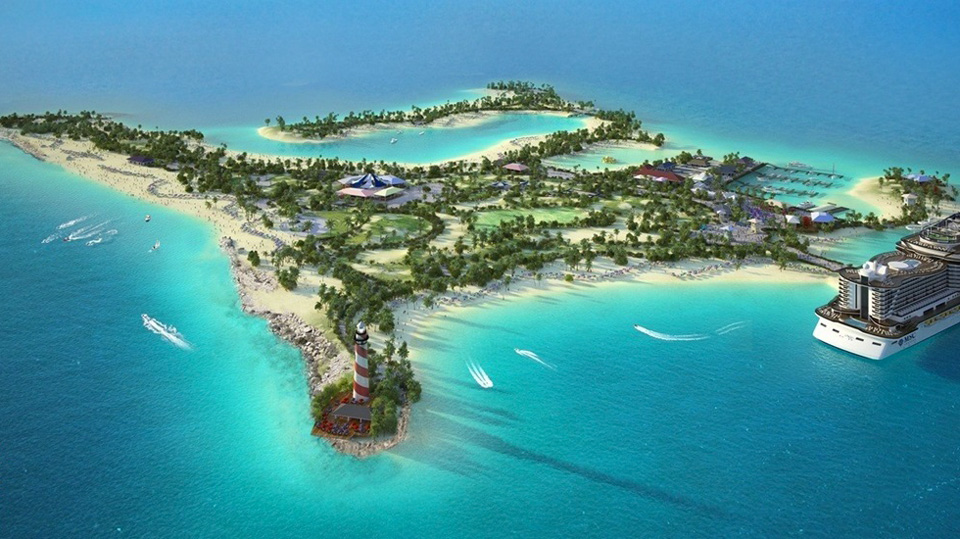 Ocean Cay Cruise Destination